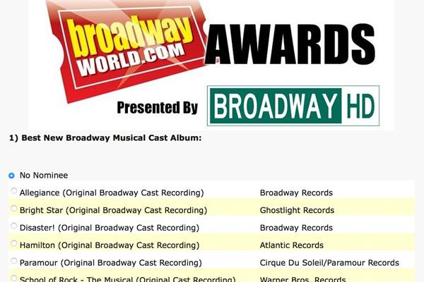 BroadwayWorld com 2019 Media Kit